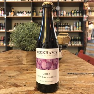 Peckham's Cider with Blackcurrant